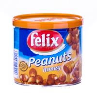 Арахіс Felix смажений зі смаком меду з/б 120г х12