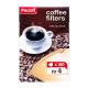 Фільтр для кави Paclan №4 100шт х6