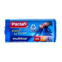 Пакети для сміття Paclan 50*64см 35л 30шт х6