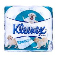 Туалетний папір Kleenex Decor Білий, 4 шт.