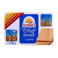 Хлібці Sonko житні 7 злаків 170г