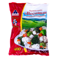 Суміш овочева Весняна семикомпонентна Рудь замор. 400г х10