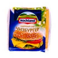 Сир плавлений Hochland Чізбургер скибками 150г х32