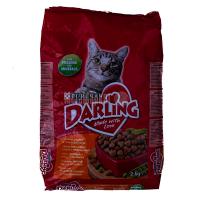 Корм Darling із птахом та овочами для котів 2кг х6
