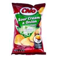 Чіпси Chio Chips зі сметаною й луком 75г х12