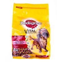 Корм Pedigree для собак яловичина овочі 2кг х6