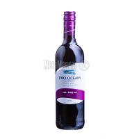 Вино Two Oceans Soft&Fruity Red червоне сухе 0.75л х3