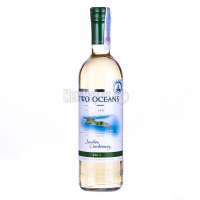 Вино Two Oceans Semillon Chardonnay біле сухе 0.75л х3