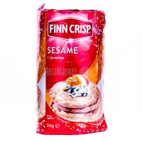 Хлібці Finn Crisp пшеничні з кунжутом 250г