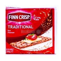 Хлібці Finn Crisp житні традиційні 200г  х6