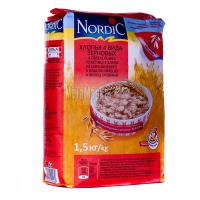 Пластівці Nordic 4 злака 1,5кг х12