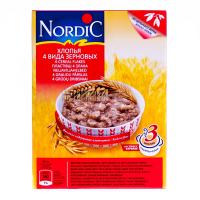 Пластівці Nordic 4 види злакових 600г х12