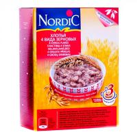 Пластівці Nordic 4 види злакових 600г