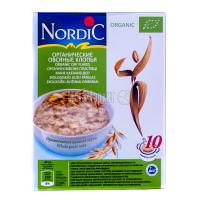 Пластівці органічні Nordic Organic вівсяні 600г