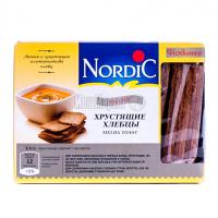 Хлібці Nordic хрусткі зі злаків житні Organic 100г