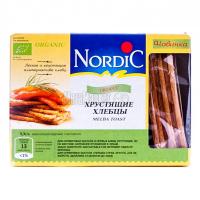 Хлібці Nordic хрусткі зі злаків Organic 100г