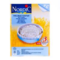Каша Nordic рисові пластівці 500г