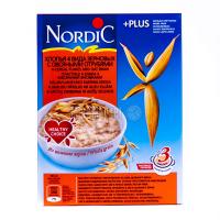 Каша Nordic 4 зернових з вівсяними отрубями 600г