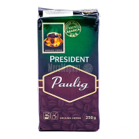 Кава Paulig President мелена 250г х12