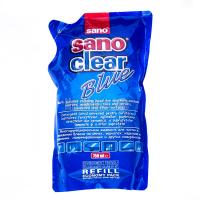 Рідина мультифункціональна для вікон/дзеркал/кераміки Sanо Clear Blue, 750 мл