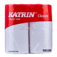 Туалетний папір Katrin Classic Toilet 320 Білий, 4 шт.