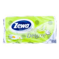 Туалетний папір Zewa camomoli Deluxe 8шт
