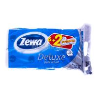 Туалетний папір Zewa pure white  Deluxe 8шт