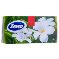 Хустки Zewa Softis Box носові 100шт х6