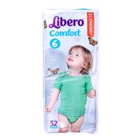 Підгузники Libero Comfort 12-22кг 52шт . х6