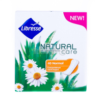 Прокладки Libresse Natural Care 40 normal х6