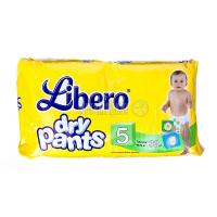 Підгузники-трусики Libero dry pants 10-14кг 32шт.