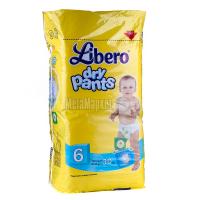 Підгузники-трусики Libero dry pants 13-20кг 30шт.