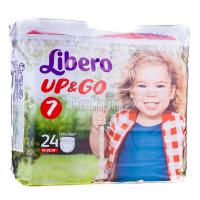 Підгузники Libero Up&Go 16-26кг 24шт x6