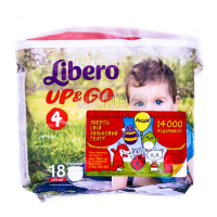 Підгузники Libero Up&Go 7-11кг 18шт