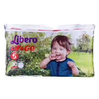 Підгузники Libero Up&Go 10-14кг 30шт x6