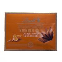 Шоколад Lindt мол.з апельсиновим смаком 125г х9