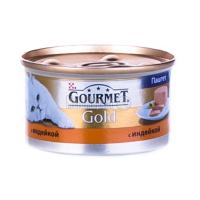 Корм Gourmet Gold для котів Індичка 85гх6