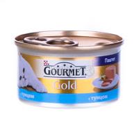 Корм Gourmet Gold для котів Тунець 85гх6