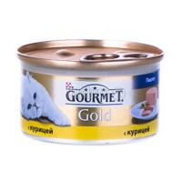 Корм Gourmet Gold для котів Мус із Куркою 85гх6