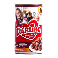Корм Purina Darling мясо,печінка 1,2кг ж/бх6