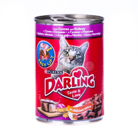Корм Purina Darling гусак,нирки 400г ж/бх6