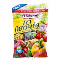 Приправа Торчин Продукт 10 овочів універсальна 190г х8