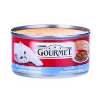 Корм Gourmet Gold для котів Лосось з фореллю 195г х6