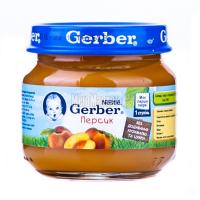 Пюре Gerber персик 80г х6
