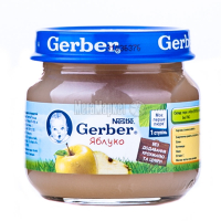 Пюре Gerber яблуко 80г х6