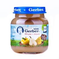 Пюре Gerber яблуко і груша 130г х12
