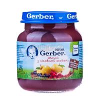 Пюре Gerber яблуко з лісовими ягодами 130г х12
