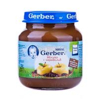 Пюре Gerber Яблуко і чорнослив 130г х12