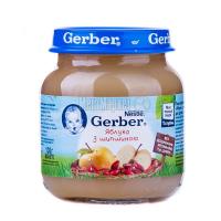 Пюре Gerber яблуко з шипшиною 130г х12