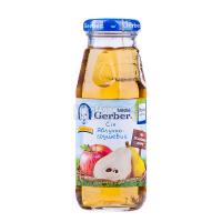 Сік Gerber яблучно-грушевий 175мл х6